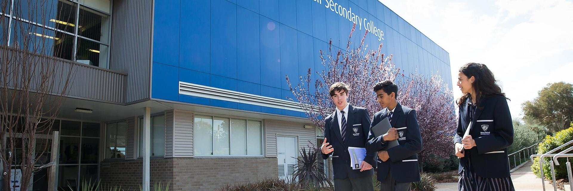 Roma Mitchell Secondary College banner image